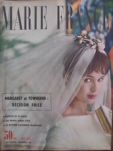 Marie-France-26-de-1958-Raf-Vallone-Katherine-Mansfield-Margaret-et-Townsend