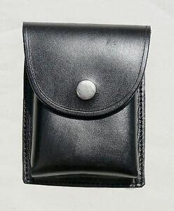 Doppel-Magazin<wbr/>tasche (Patronentasch<wbr/>e) – Gürteltasche - echt Leder – schwarz