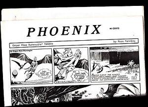 Phoenix-Comic-Strip-Reprints-Paper-Tarzan-1970s-Russ-Manning