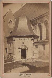 Nogent-le-Potrou Tombeau Da Sully Vintage Albumina Ca 1880