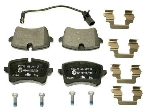 For Audi A6 A7 Q RS5 RS7 S6 Porsche Macan Rear Brake Pad Set with Sensor ATE