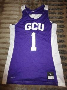 buy online 08a38 7e7c5 Details about Grand Canyon University Antelopes GCU Basketball Team nike  Jersey SM S Student