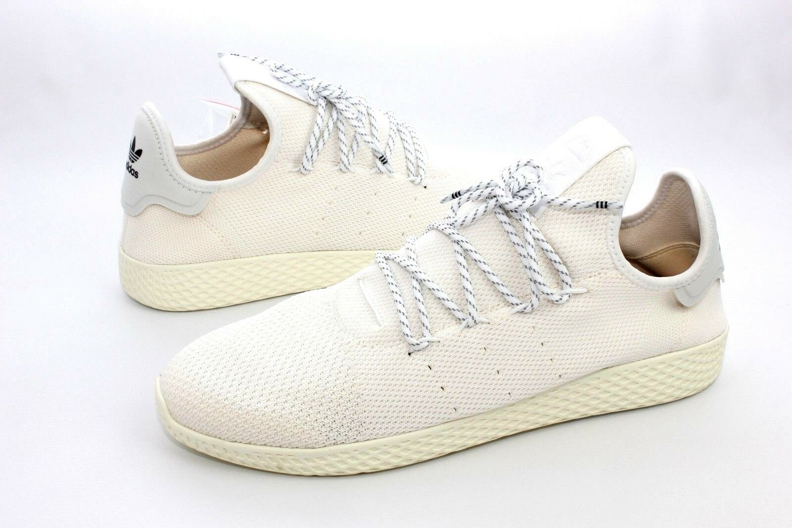 Adidas pharrell a.c. williams hu holi tennis a.c. pharrell crema / white Uomo taglia 11 da9613 660893