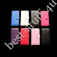 Flip Magnetic Leather Wallet Card Case Cover Fits IPhone Apple Mobile Phone C5