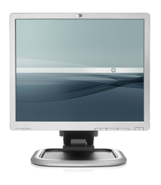 "HP 19"" LA1951G / L1950 4:3 TFT LCD PC COMPUTER MONITOR SCREEN VGA DVI ADJUSTABLE"
