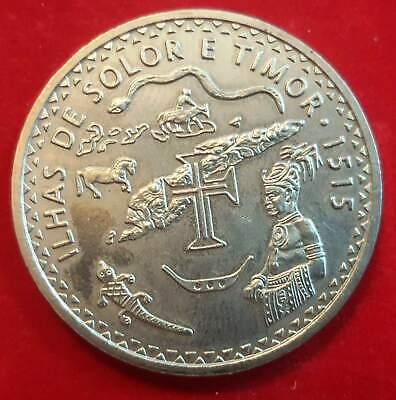 PORTUGAL 200 ESCUDOS 1995 SOLOR AND TIMOR COIN UNC
