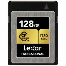 Lexar LCF128CRBNA800 Professional 800x 128GB VPG-20 CompactFlash Card