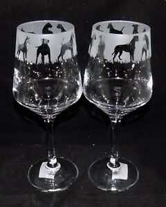 New-Etched-034-BOXER-DOG-034-Wine-Glass-es-Free-Gift-Box-Large-390mls-Wine-Glass