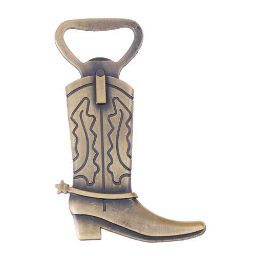 Cowboy Boot décapsuleur western Anniversaire Mariage Faveur Fête Mignon Teu