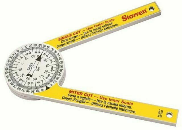 505P-7 Miter Saw Protractor Pro Site Series