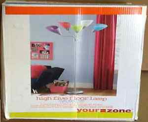 Your Zone High Five Floor Lamp: Image is loading Your-Zone-5-light-High-Five-Floor-Lamp-,Lighting