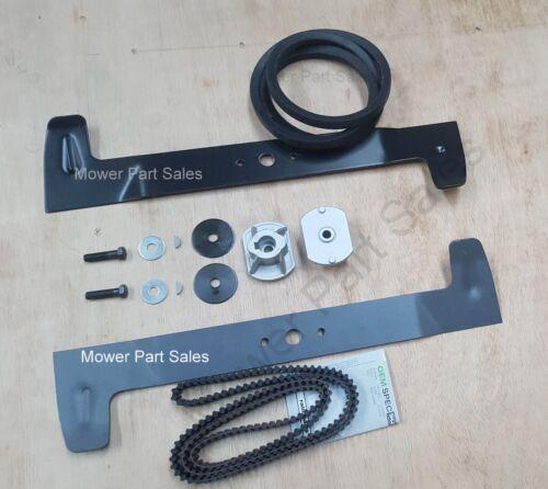 Castel Garden Blades Timing Engine Deck Belt Kit Set TC102 TCR102 TCP102 TCX102