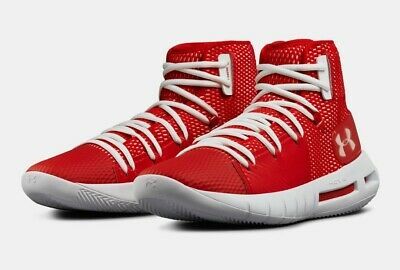 on sale 2b87b da761 UNDER ARMOUR HOVR HAVOC MID TOP MENS BASKETBALL SHOES. SZ 9.5. RED (Brand  new) | eBay