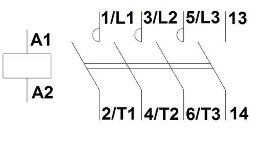 24VDC Contactor AC3 SCHRACK Cubico Mini  up to 5.5KW//12A//400V 24VAC 230VAC