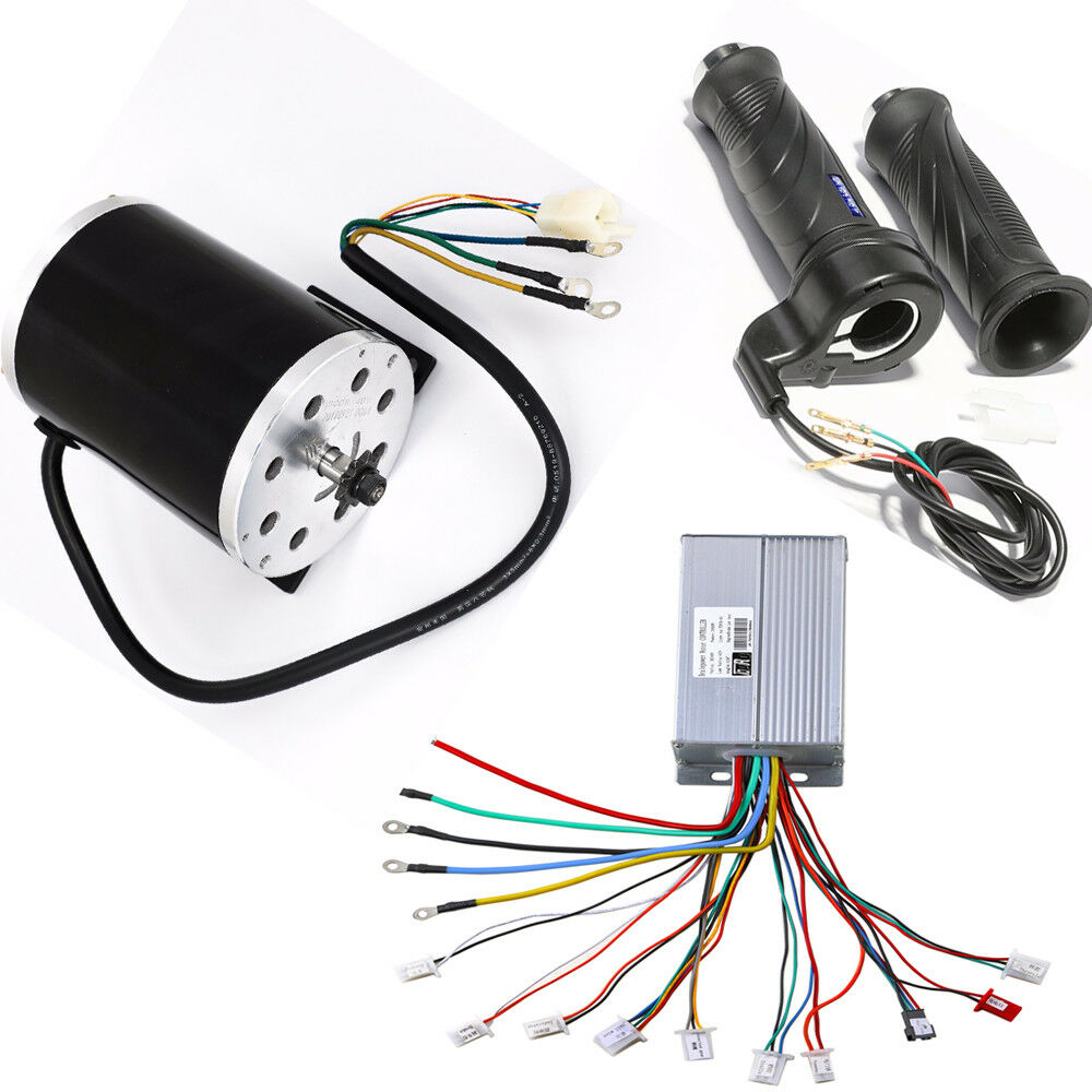48V 1800W Electric Brushless T8F 9T Motor Speed Controller   Throssotle Grip