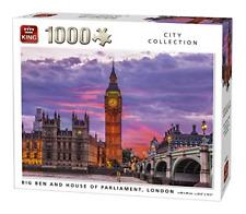 Falcon de luxe A WINTER IN LONDON 1000 piece jigsaw puzzle Tower bridge Big Ben