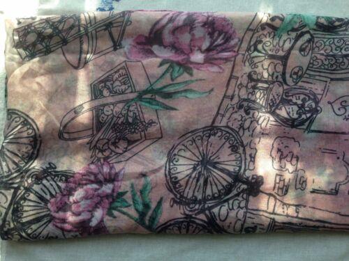 Femmes imprimé floral viscose fashion scarf wrap 170 x 85 cm