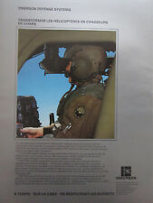 5/1985 PUB EMERSON DEFENSE SYSTEMS HELITOW MBB BO105 MILITARY HELICOPTER TOW AD