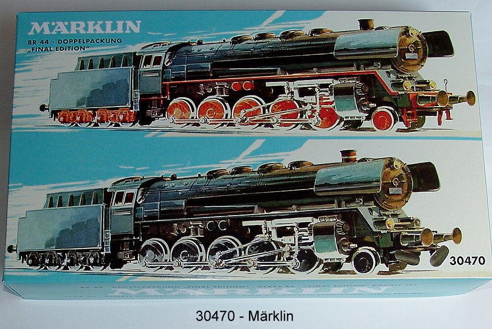 30470 Locomotiva-Doppia confezione BR 44  Final Edition   neu in OVP