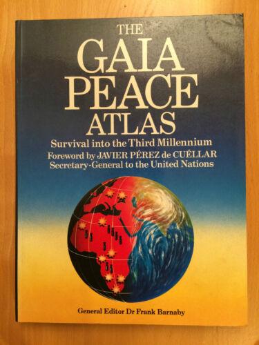 1 of 1 - The Gaia Peace Atlas by Pan Macmillan (Paperback, 1988)