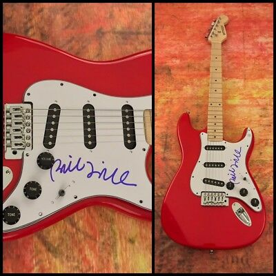 Signed Autographed Electric Guitar Coa Beneficial To Essential Medulla Bill Frisell Gfa Jazz Folk Guitarist