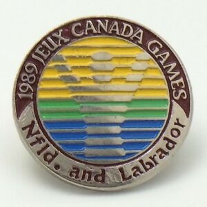 1989-Jeux-Canada-Games-Newfoundland-And-Labrador-Pin-G011