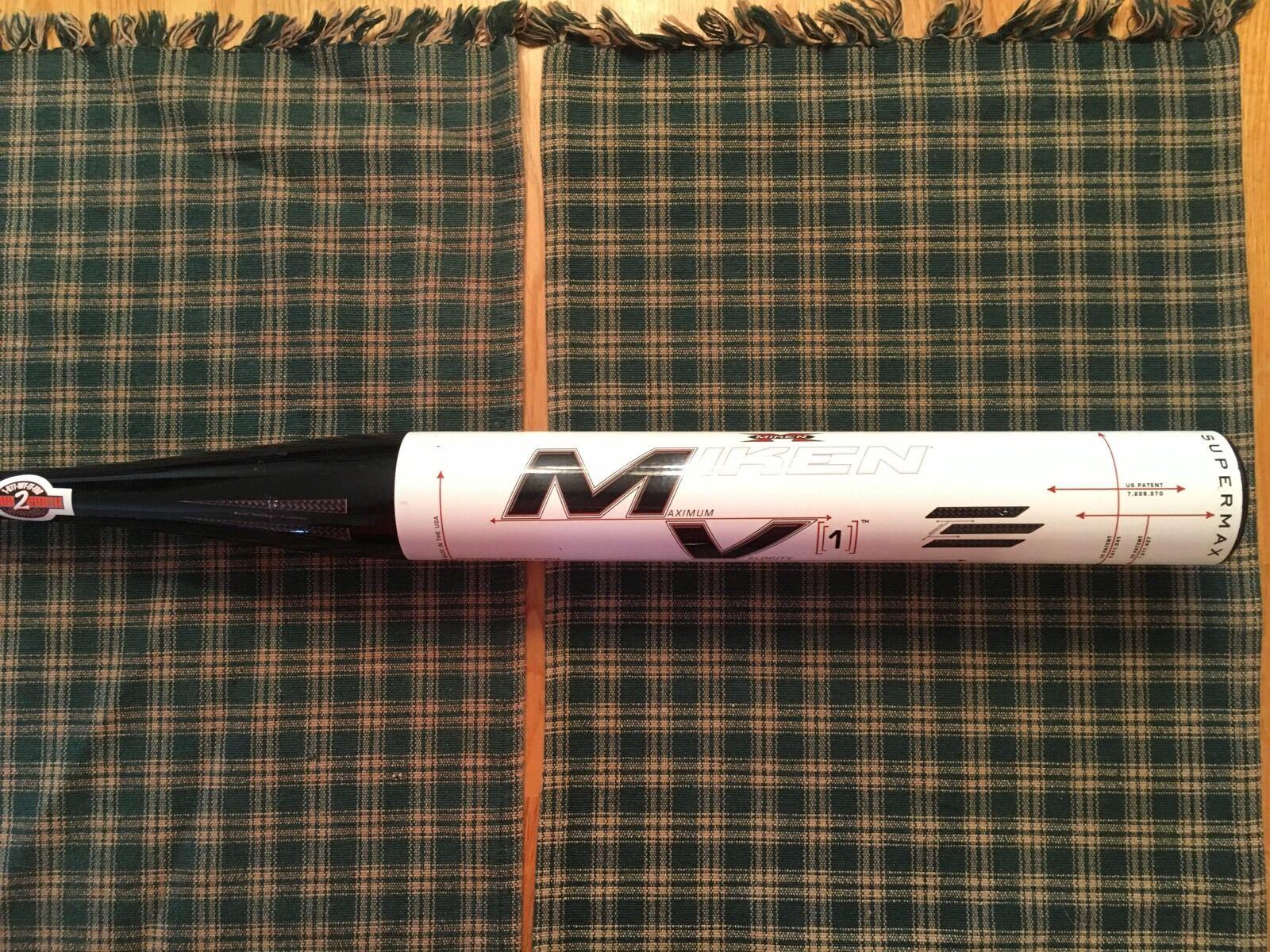 Raro   debes ver  Miken MV1 msmv 1MU 34 27 Softbol bate súpermax Serie  02410014