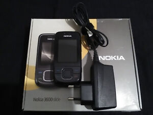 Nokia 3600 slide + boîte + chargeur - téléphone portable mobile