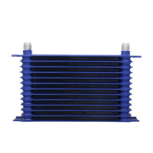 10-AN-13-Rows-Power-Coated-Aluminum-Engine-Transmission-Oil-Cooler-50-F-Cooling