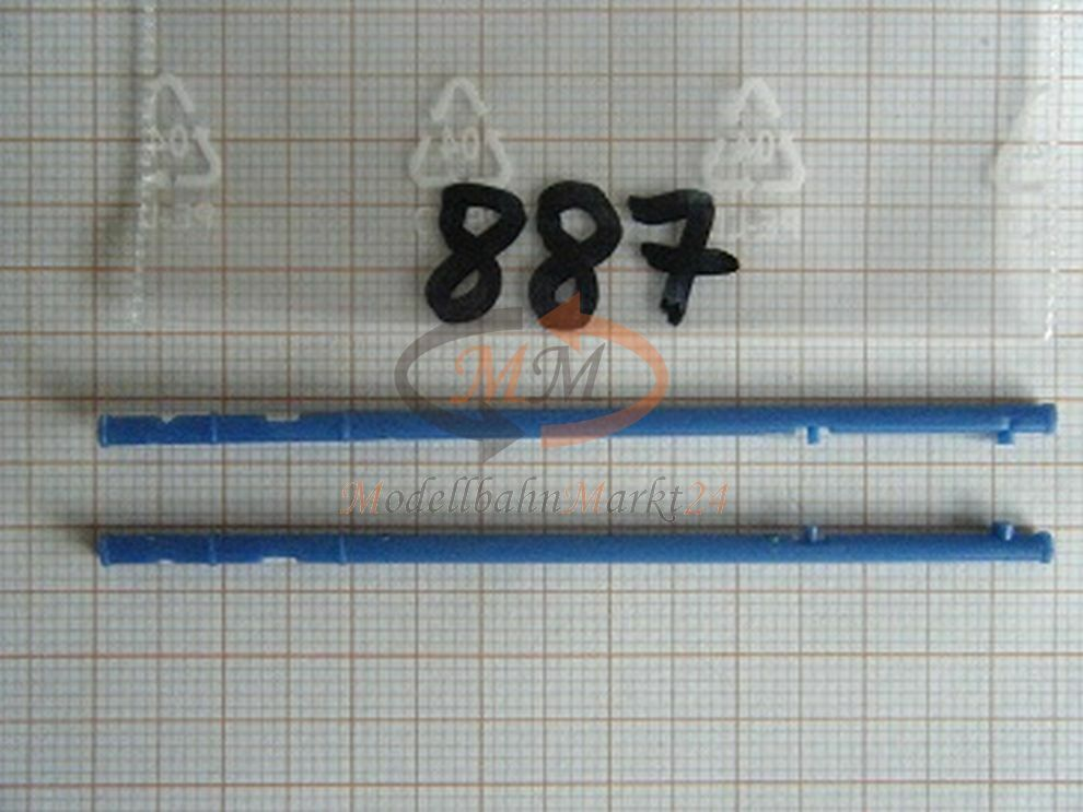 30x ALBEDO Ersatzteil Ladegut Zubehör für 0879 Containerchassis blau 1 87 - 0887    Zu verkaufen