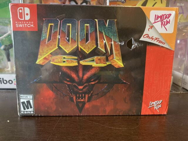 Limited Run Games: DOOM 64 Classic Edition for Nintendo Switch - FACTORY SEALED