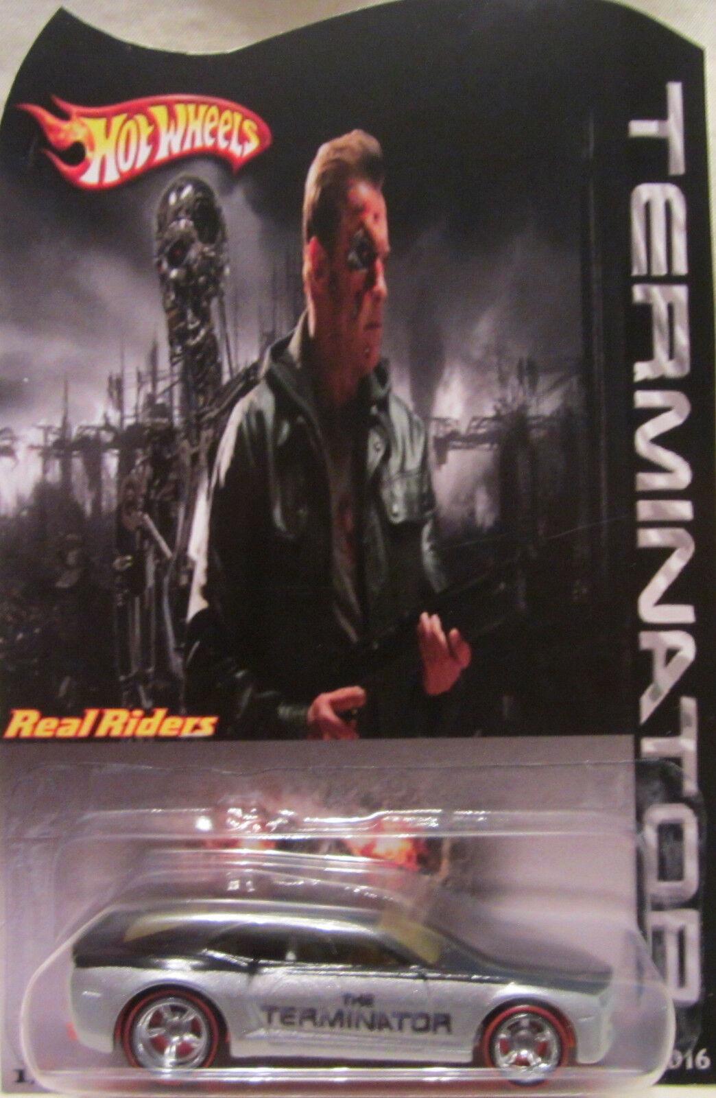 Hot Wheels a Medida Chevy Camaro The Terminator Real Riders Riders Riders Limitado 1 25 Made c93502