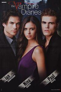 THE-VAMPIRE-DIARIES-A3-Poster-42-x-28-cm-Ian-Somerhalder-Clippings-Sammlung