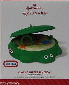 image is loading hallmark keepsake little tikes classic turtle sandbox christmas