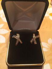 Boucles d'oreille en or et diamants
