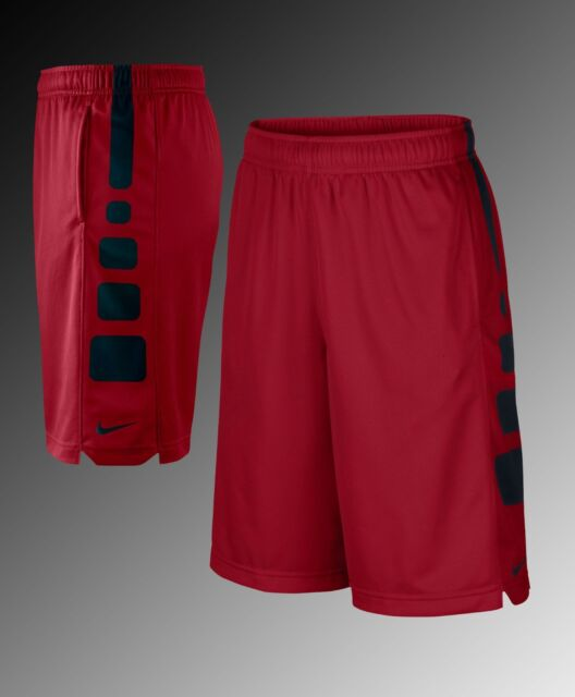 e34daa199a16 Nike Elite Basketball Shorts 816710 657 Red black Boy s Size Medium ...