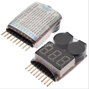 1x-RC-LiPo-Bateria-Bajo-Voltaje-Alarma-1S-8S-Zumbador-Indicador-Checker-Tester-UK