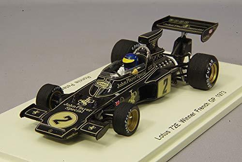Spark 1 43 72E Lotus 1973 F1 GP Francia ganador R. Peterson de Japón F S