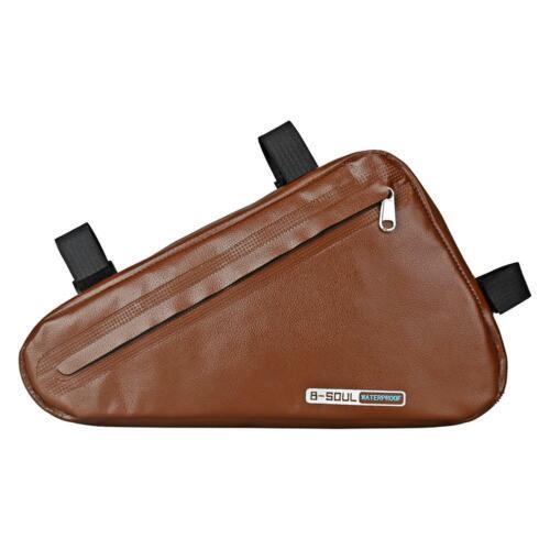 B-SOUL MTB Bicycle Saddle Bag Front Top Tube Frame Bag Sport Cycling Tail Bags