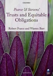 Pearce-amp-Stevens-039-Trusts-and-Equitable-Obligations-Very-Good-Condition-Book-Ba