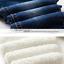 Baby Boys Girls Denim Jeans Kids Winter Pants Warm Fleece Thick Trousers Casual
