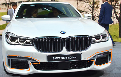 New Genuine BMW X5 E70 Front Bumper N//S Left Lower Grill Trim 7168923 OEM