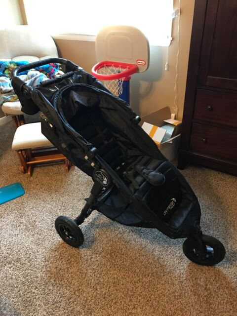Baby Jogger City Mini Gt Black Shadow Single Seat Stroller