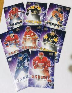 2019-20-UPPER-DECK-NHL-SERIES-ONE-PURE-ENERGY-PE-1-50-U-PICK-MCDAVID-CROSBY