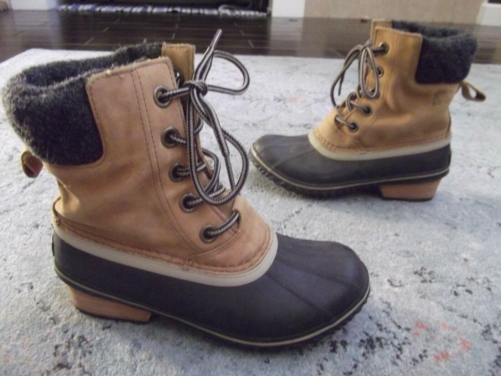 SOREL Womens Slimpack Lace Ii Snow Boot