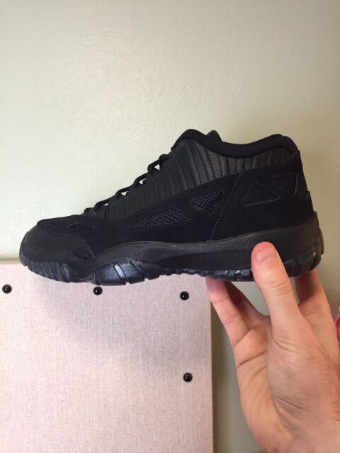 56973f2b5bd148 Nike Air Jordan 11 Retro Low Black True Red 23 Sz 10 XI Referee for ...