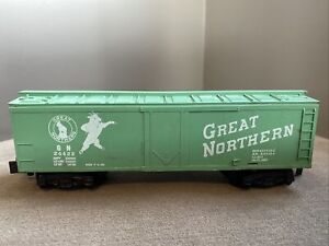 Vintage-American-Flyer-s-gauge-24422-Great-Northern-Refrigerator-car-Train-RR