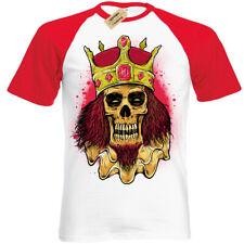 MI in prestito il dolore T-shirt emo SKULL Canotta da donna