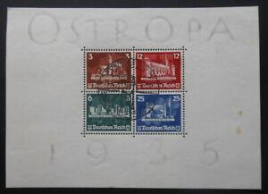 GERMANY-OSTROPA-1935-MI-BLOCK-3-VERY-RARE-WELFARE-STAMPS
