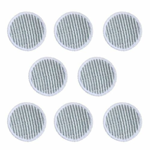 8 Packs Spinwave Mop Pad Kit Replacement Pads for Bissell Spinwave 2039A 2124